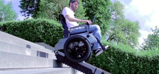 The Stairclimbing Wheelchair -