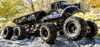 Exceed RC 8x8 MadTorque Monster Truck Crawler in Action 4K