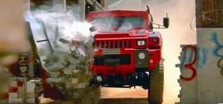 Indestructible Vehicle Survives Bombs and Drives Through Walls