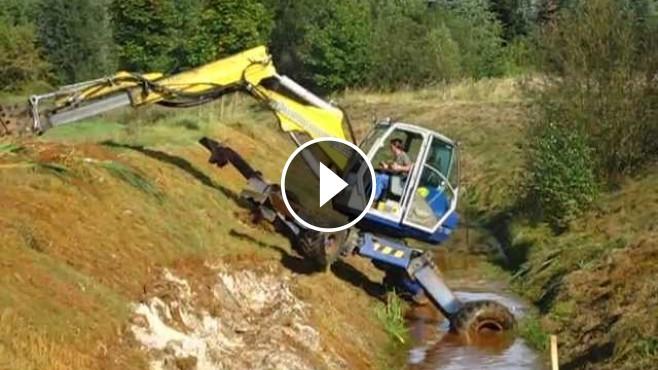 Schreit Mobil Bagger Spider Excavator