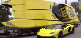 A $1.5 Million Lamborghini Boat!
