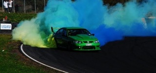 Ford Falcon V8 Skid Demo - RATTLA