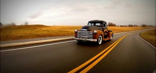 1949 Chevrolet 5 Window Air Bagged Rat Rod Truck Slammed Shop Truck
