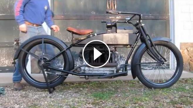 1915 Henderson Motorcycle Model E