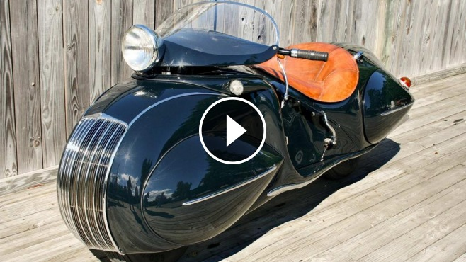 Triumph Cafe Racer >> Honda Shadow 600 Custom inspired 1930 Henderson KJ Streamline