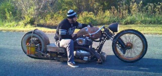 Redneck Limo Rat Rod Motorcycle