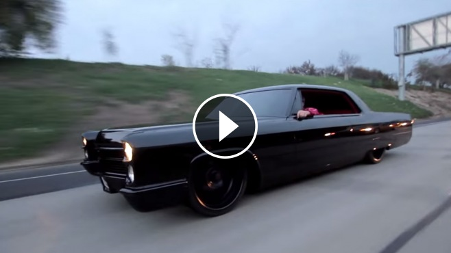 Private Car Of Dark Forces 1966 Ursala Cadillac Looks