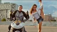 Motorcycle Stunts for Russian Girl