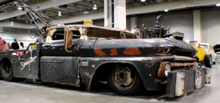 "Rat Rod Tow Truck ""Wrecked Wrecker"""