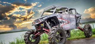 """Depth Finder"" Custom Polaris RZR by Super ATV"