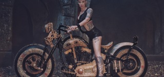 World's First Tattooed Motorcycle - The Recidivist