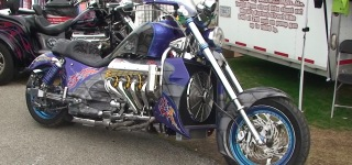 Custom BOSS HOSS 1100 HP Chevy Powered Motorcycle