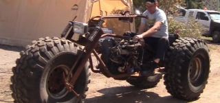 Black Widow MONSTER TRIKE Test Drive!