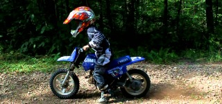 Talented 4 And 5 Year Old Dirt Bike Riders
