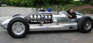 1952 TANK Engine Watson Roadster Custom By Blastolene