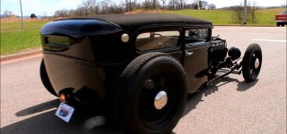 1930 Ford Model A 2 Door Sedan Hot Rod