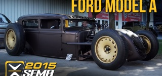 AWESOME Custom 1931 Model A Ford Hot Rod at SEMA 2015
