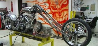 World Biker Build Off Custom Chopper Motorcycle - E01