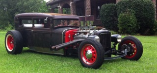 1931 Ford Model a Rat Rod Chopped