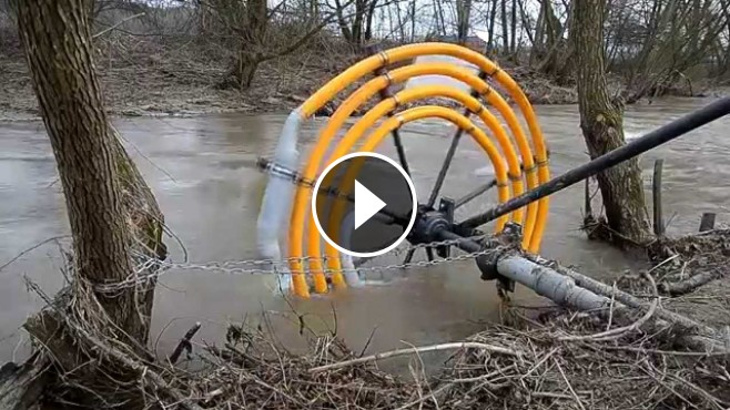 This Is Genius Diy Free Energy Water Wheel Pump