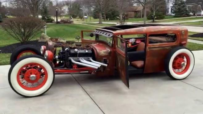 BADASS 1929 Ford Rat Rod