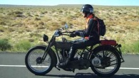 1915 Harley & 1915 Indian Motorcycles at Speed