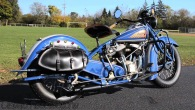 Restored 1938 Indian Chief Motorcycle!