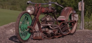 INCREDIBLE Rustbike Called The FLESHWOUND