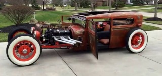 BADASS 1929 Ford Rat Rod