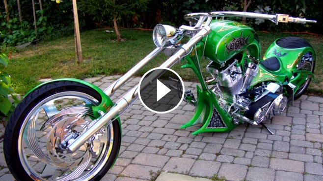 awesome custom chopper grim reaper
