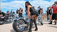 Daytona Beach Bike Week - Custom Bike & Babes