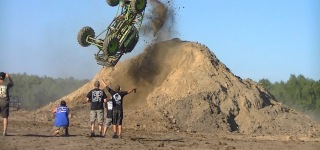 First Mud Truck BACK FLIP Ever!