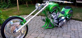 Awesome Custom Chopper - Grim Reaper