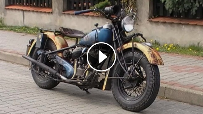 Indian Chief 1945 Police Bonneville