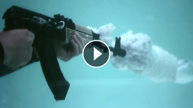 H And H Tire >> What a Great Explosion! An Underwater Bullet In Super ...