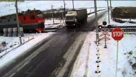 Russian Rail Crossing Crash