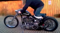 Harley Evo Bobber First Kickstart Love That Sound!