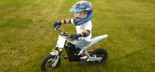 3 Year Old Motorcycle Rider