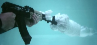 What a Great Explosion! An Underwater Bullet In Super Slow-Motion