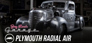 Jacobs R-755 Powered 1939 Plymouth Radial Air from Jay Leno's Garrage
