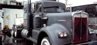 1961 Kenworth Rat Rod Straight Pipes