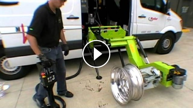 Wheel And Tire >> Changing Tires Faster And More Efficiently By Using A ...