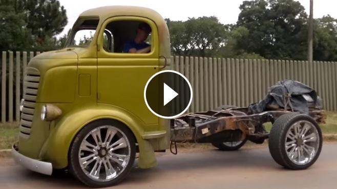 Monster Truck Rc Cars >> Super Cool Chevy Coe Truck Diesel MWM Turbo Intercooler
