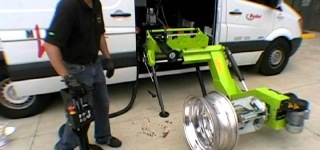 Changing Tires Faster And More Efficiently By Using A Mobile Tire Changer Device