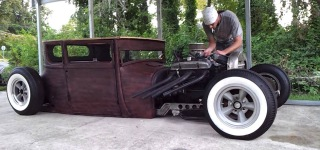 BADASS 1926 Model t a RAT ROD Start Up!