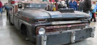 The Legendary Rat Rod Tow Truck from World of Wheels Pittsburgh 2010