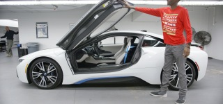 The Coolest Hybrid Car Ever BMW i8