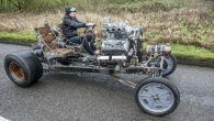 Futuristic Automatron Car Inspired By Steampunk