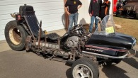 The Sno-Gasm 190 hp Rat-Rod Trike Bike Snowmobile