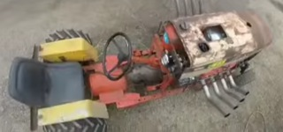Hitting The Road With Big Block Chevy Lawnmower
